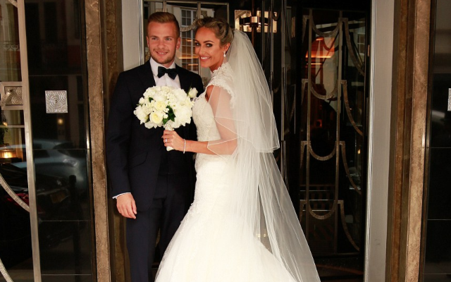 Tom Cleverley marries Georgina Dorsett – wedding photos as Man United & Arsenal stars party with HOT guests