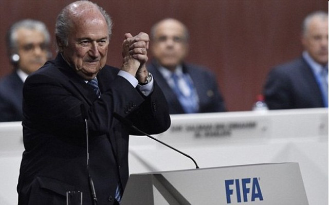 OH NO! Sepp Blatter might stay on as FIFA President