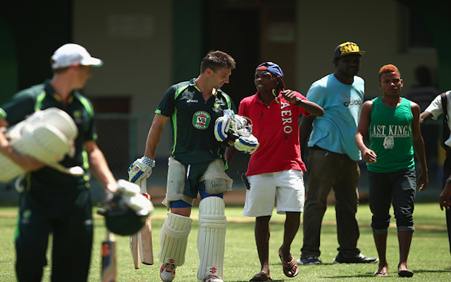 West Indies v Australia: Michael Clarke's side 'physically harassed' by locals wanting Test tickets in Kingston