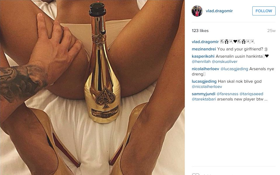 Vlad Dragomir Instagram post