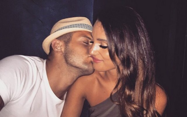 Jack Wilshere's NEW girlfriend: Arsenal star pictured KISSING hot babe