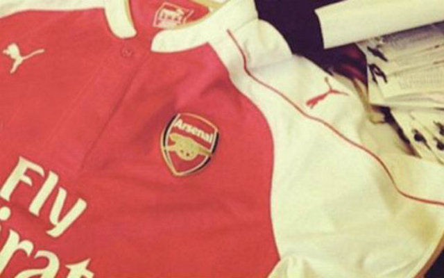 Arsenal 2015-16 home kit OFFICIALLY REVEALED: £100 shirt available to order