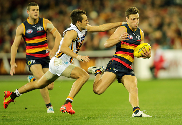 (Video) Adelaide Crows v Hawthorn Hawks highlights: Hawks register comfortable victory over a valiant Crows
