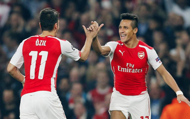 Alexis Sanchez goal video: Arsenal rewarded as high pressing helps unlock rival's defence