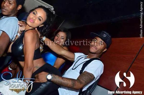 Analicia Chaves and Raheem Sterling