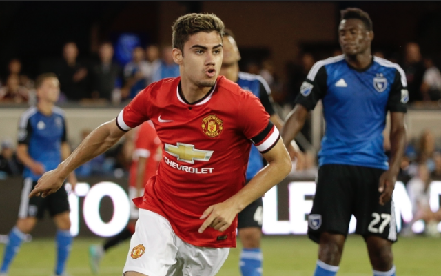 Andreas Pereira goal video: Man United wonderkid takes free-kick from Juan Mata and scores in style
