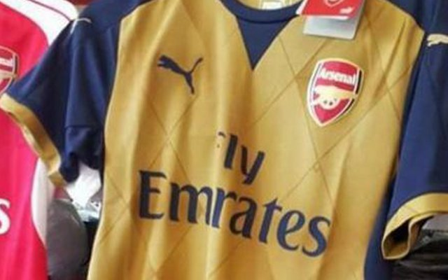 New Arsenal away shirt PICTURED on sale BEFORE official release