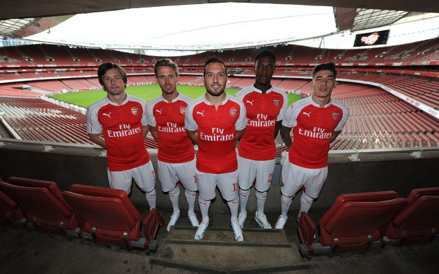 Top 10 NEW KITS of 2015/16: Arsenal bring CLASS, Chelsea show DOMINANCE