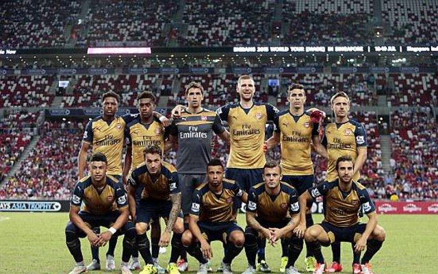 Arsenal 4-0 Singapore video highlights: Chuba Akpom hattrick gets Gunners off to flying start in 2015-16