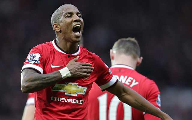 (Video) Ashley Young guilty of yet another horrendous dive in Manchester United win