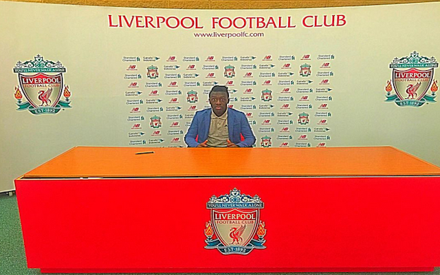 DONE DEAL: Liverpool complete signing of Barcelona WONDERKID Bobby Adekanye
