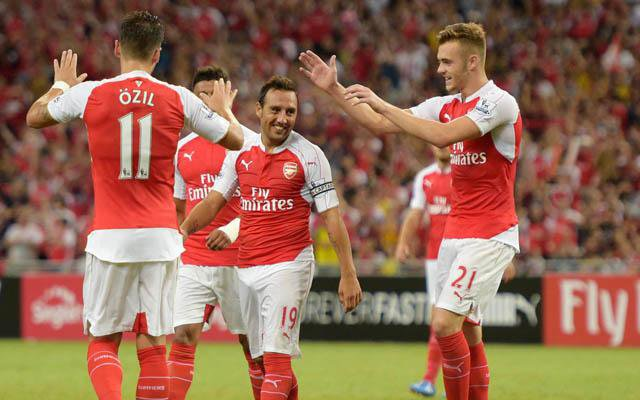 Arsenal player ratings from 3-1 win over Everton: Cazorla, Ozil & Walcott all score 7.5+