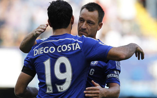 EXPOSED: Diego Costa's FIRST words to Chelsea captain John Terry