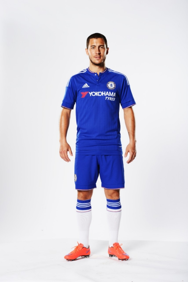 Eden Hazard Chelsea kit