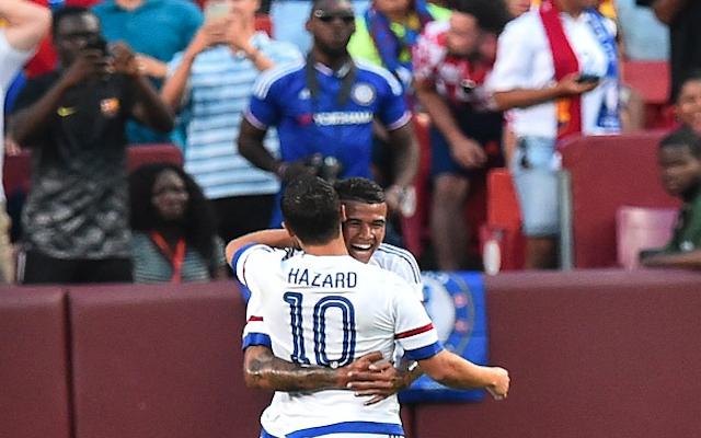 Eden Hazard goal video: Chelsea ace dazzles with superb SOLO finish against European champs Barcelona