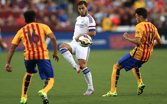 Chelsea player ratings vs. Barcelona: Eden Hazard steals the show with STUNNING goal