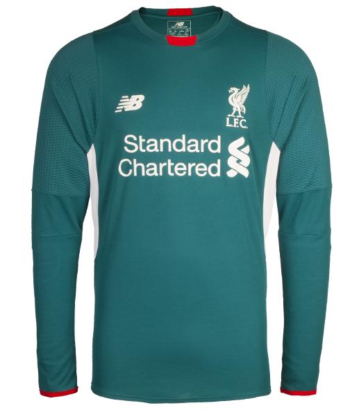 Liverpool goalkeeper shirt away