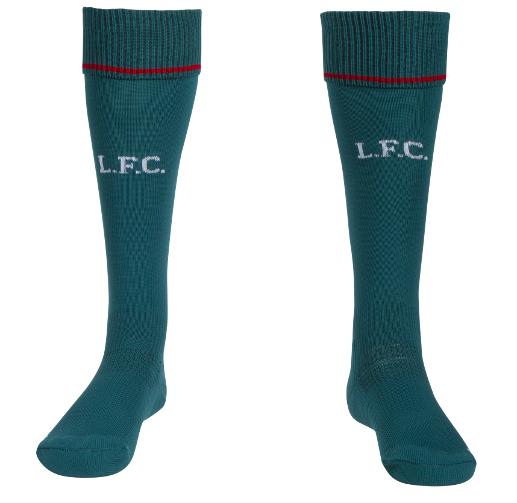 Liverpool goalkeeper socks away