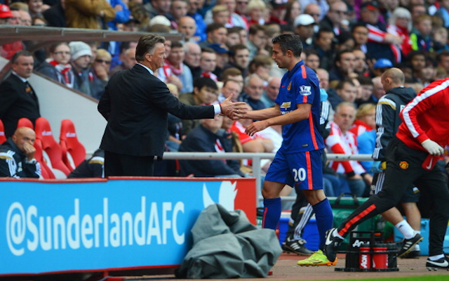 Robin van Persie fires PARTING SHOT at Louis van Gaal following Man United EXIT