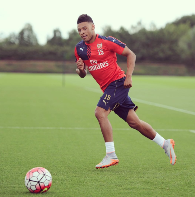 Arsenal preseason day 1 - Oxlade-Chamberlain