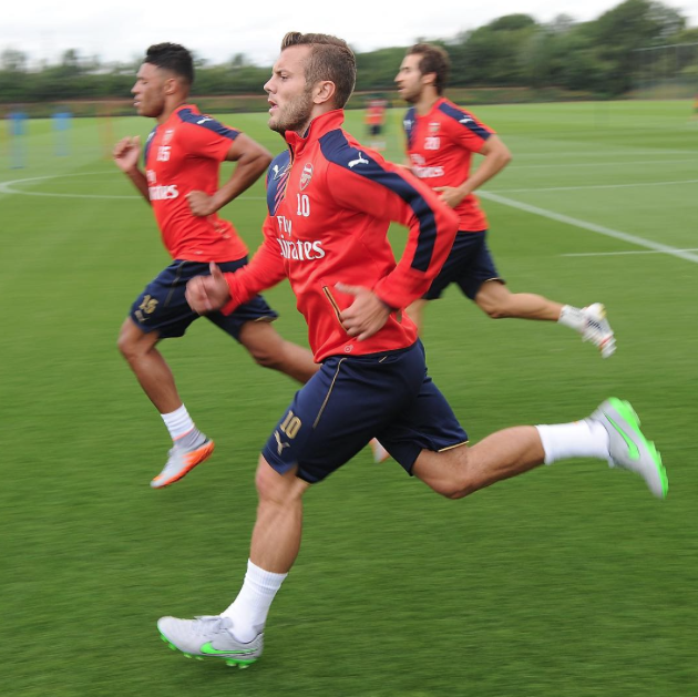 Arsenal preseason day 1