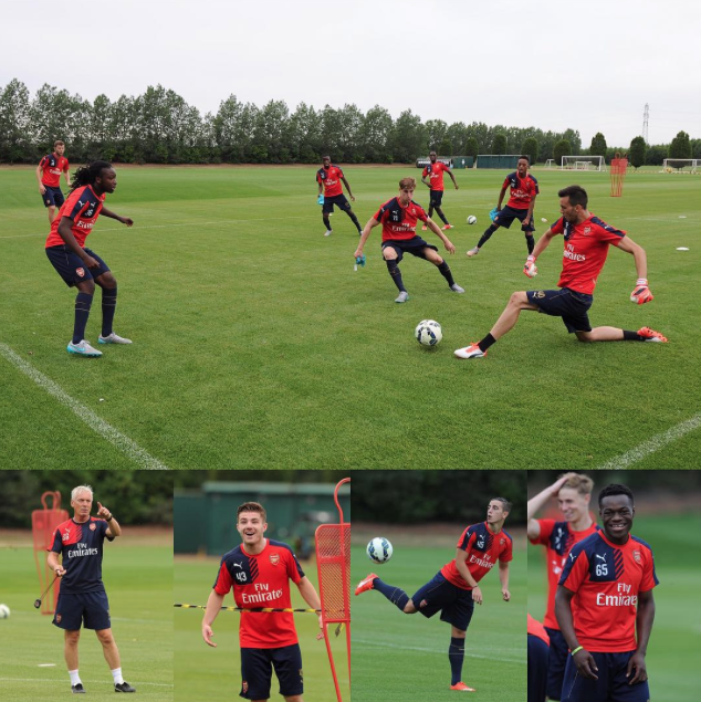 Arsenal preseason day 1 - Youth team
