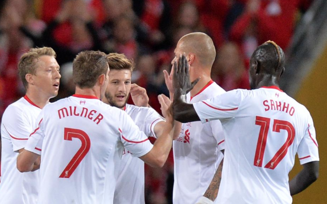 Adam Lallana goal video: Liverpool playmaker nets against Brisbane with assist from new signing