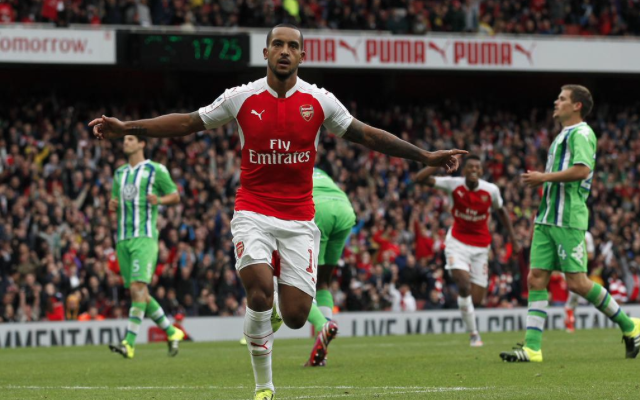 Arsenal 1-0 Wolfsburg video: Theo Walcott the match-winner as Gunners lift Emirates Cup