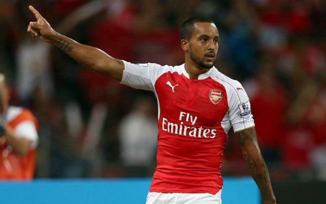 Theo Walcott Olympiakos goal video: Gunners star extends impressive form