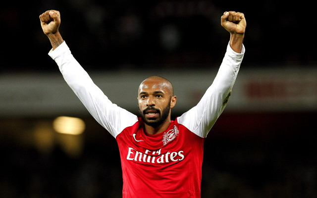 £84.2 million Arsenal LEGEND training with MLS outfit