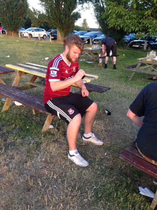 West Ham full kit wanker