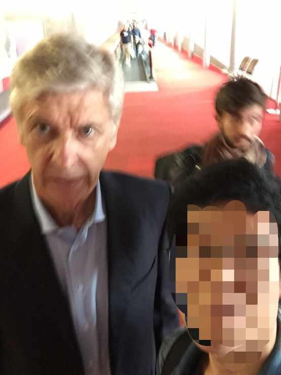Arsene Wenger in Paris