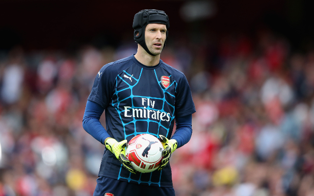 PICTURE SPECIAL: Arsenal stars train ahead of Chelsea clash, Petr Cech prepares to face former side