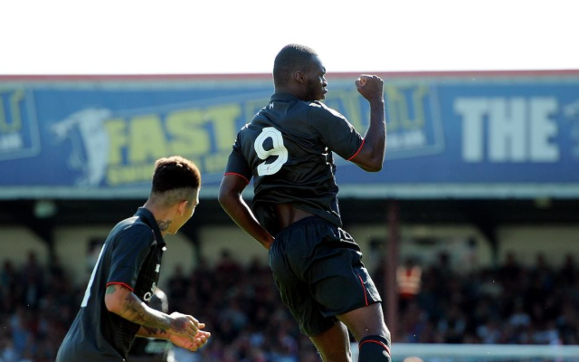 Video: Christian Benteke's first Liverpool goal – £32.5m signing scores stunning volley on debut