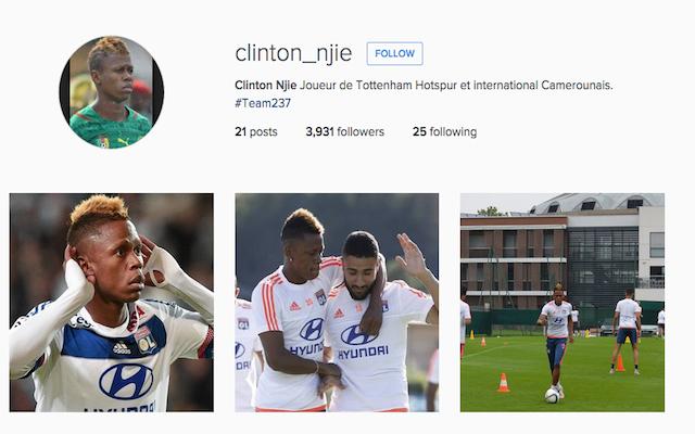Clinton Njie Instagram
