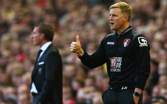 Bournemouth boss Eddie Howe FURIOUSLY reacts to controversial Liverpool defeat