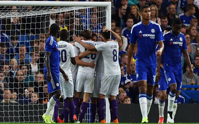 Video: Chelsea LOSE at home as Gonzalo Rodriguez goal seals SHOCK Fiorentina win at Stamford Bridge