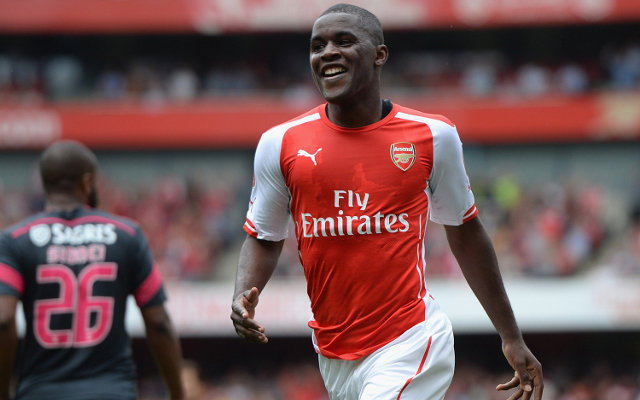 Arsenal edge closer to £7.1m striker DEAL