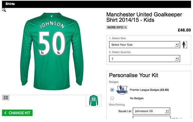 Johnstone shirt