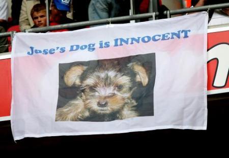 Mourinho's dog