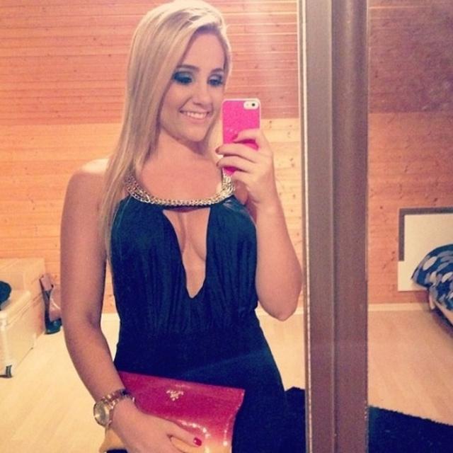 Larissa Pereira - Roberto Firmino's wife