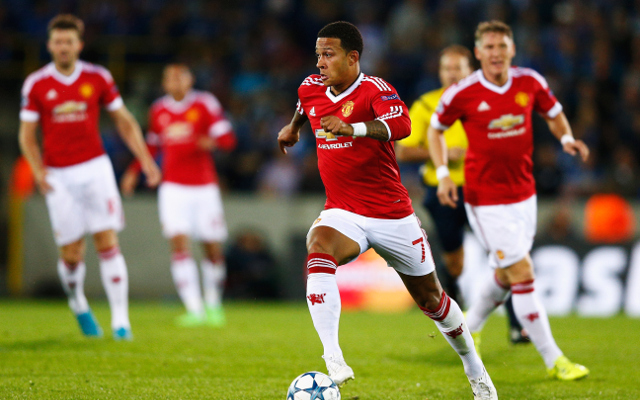 during the UEFA Champions League qualifying round play off 2nd leg match between Club Brugge and Manchester United held at Jan Breydel Stadium on August 26, 2015 in Brugge, Belgium.