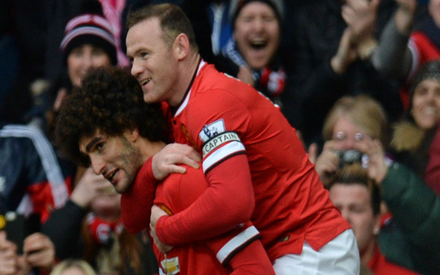 5 tactics Man United could use to get Marouane Fellaini AND Wayne Rooney firing