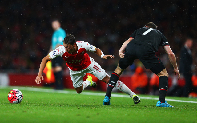 Mesut Ozil TROLLED on Twitter AGAIN after Arsenal draw against Liverpool