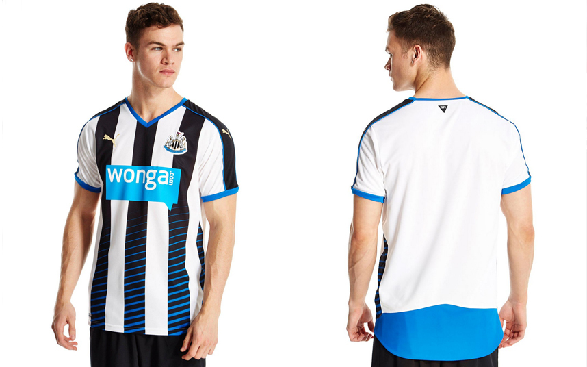 Newcastle United home kit 2015-16