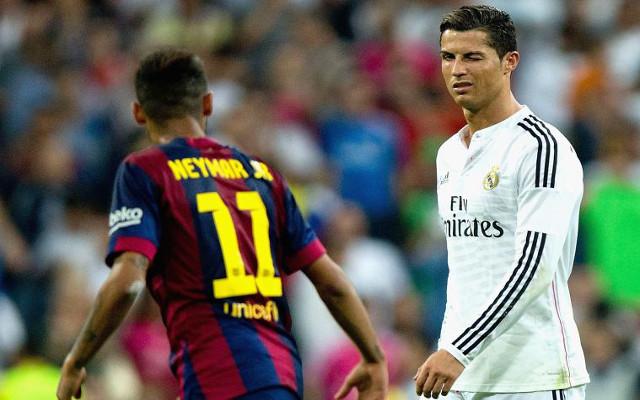 Neymar Cristiano Ronaldo