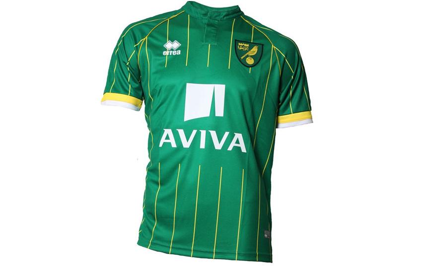 Norwich away shirt 2015-16
