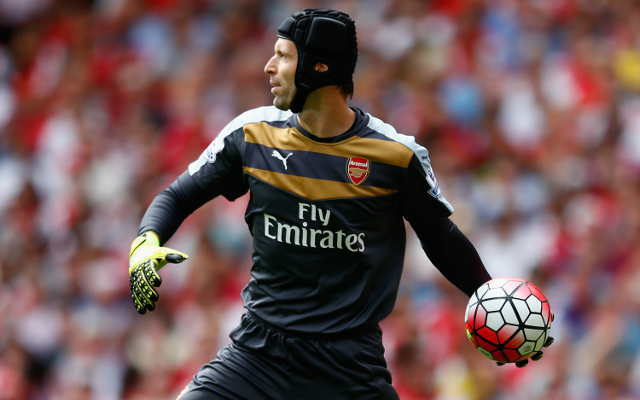 Arsenal fans reacted to Petr Cech's HEROIC first-half display against Liverpool