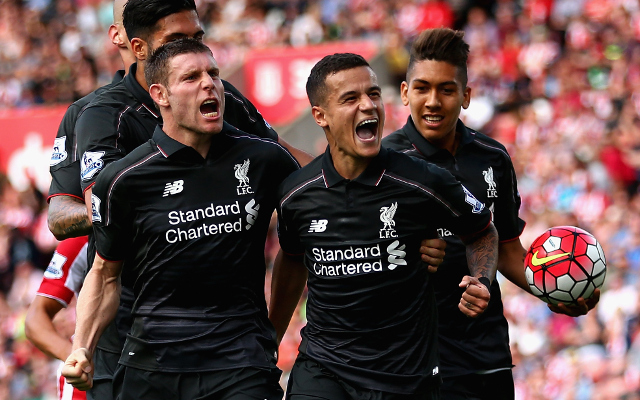 Liverpool team news: Rodgers entrusts Coutinho with responsibility of winning Europa League opener