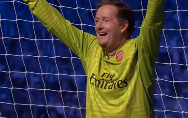 New Arsenal hero sucks up to Piers Morgan